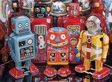 Robot Explorers 1000 Piece Puzzle