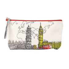 London Big Ben Handmade Pouch