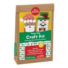 Merry Christmas! Paperbag Craft Kit