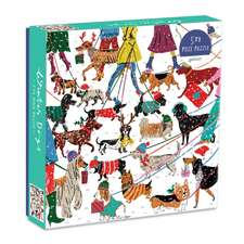 Winter Dogs 500 Piece Puzzle