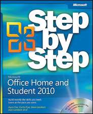 Microsoft Office Home and Student 2010 Step by Step [With Access Code]
