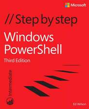 Windows Powershell Step by Step:  Designing and Architecting Solutions