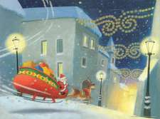 Santa's on His Way Calendar