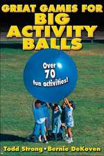 Great Games for Big Activity Balls