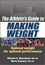 The Athlete's Guide to Making Weight:  Theory and Practice for Children Under 8