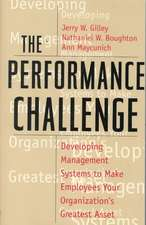 The Performance Challenge