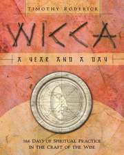 Wicca:  366 Days of Spiritual Practice in the Craft of the Wise