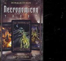 Necronomicon Tarot Cards Kit [With BookWith Tarot CardsWith Black Organdy Bag]:  Inviting Celtic & Norse Goddesses Into Your Life