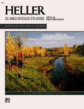 Heller -- Melodious Studies (Complete)