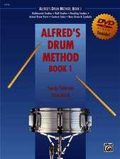 Alfred's Drum Method, Bk 1: The Most Comprehensive Beginning Snare Drum Method Ever!, Book & DVD (Sleeve)