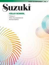 Suzuki Cello School Piano Accompaniment 4