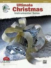 Ultimate Christmas Instrumental Solos:  Alto Sax, Book & CD