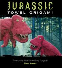 Jurassic Towel Origami:  The Craft That Bath Time Forgot!