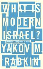 What is Modern Israel?