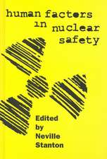 Human Factors in Nuclear Safety