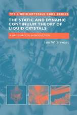 The Static and Dynamic Continuum Theory of Liquid Crystals:  A Mathematical Introduction