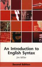 An Introduction to English Syntax:  From Practice to Theory