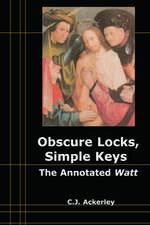 Obscure Locks, Simple Keys