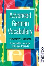 Advanced German Vocabulary - Second Edition