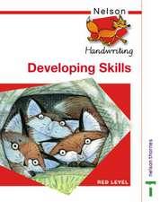 Nelson Handwriting Developing Skills Book Red Level