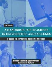 Handbook for Teachers in Universities and Colleges