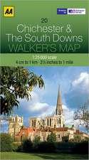 Walker's Map Chichester & the South Downs:  Edinburgh & the Pentland Hills