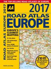 Road Atlas Europe 2017:  Collection 9