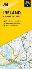 AA ROAD MAP IRELAND