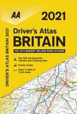 Driver's Atlas Britain 2021
