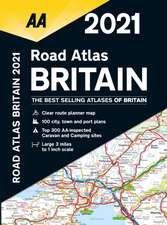 Road Atlas Britain 2021