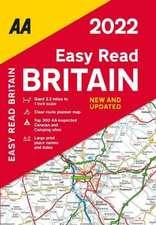 EASY READ ATLAS BRITAIN 2022 FB