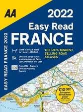 EASY READ ATLAS FRANCE 2022 FB