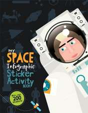 My Space Infographic Activity Book