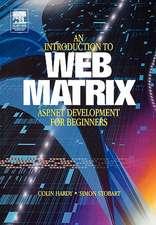 Introduction to Web Matrix: ASP.NET Development for Beginners