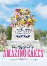 GREAT BRITISH BAKE OFF BIG BK AMAZ CAKES