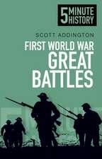 First World War Great Battles