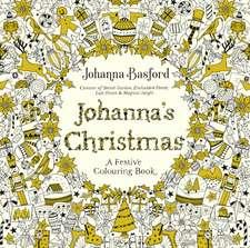 Carte de colorat Crăciun Johanna Basford Johanna's Christmas