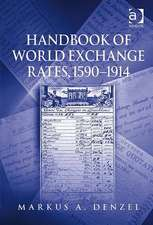 Handbook of World Exchange Rates, 1590-1914
