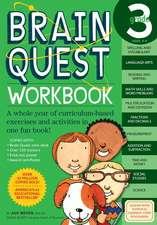 Brain Quest Grade 3 Workbook [With Stickers]