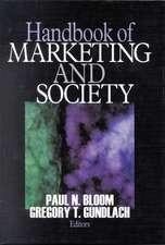 Handbook of Marketing and Society