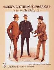 Men's Clothing & Fabrics in the 1890s