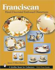 Franciscan Hand-Decorated Embossed Dinnerware:  The Early History of Recorded Sound Observed