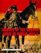 Horses of the German Army in World War II