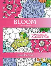 Bloom: A Coloring Journey