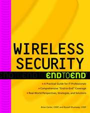 Wireless Security End–to–End