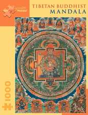 Tibetan Buddhist Mandala 1,000-Piece Jigsaw Puzzle:  500 Patterns, French Charm for Your Stitchwork