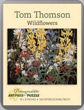 TOM THOMSON WILDFLOWERS 100PIECE JIGSAW