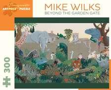 Mike Wilks Beyond the Garden Gate 300-Piece Jigsaw Puzzle  J