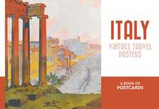 Italy Vintage Travel Posters Book of Postcards