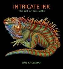 Tim Jeffs/Intricate Ink 2018 Wall Calendar